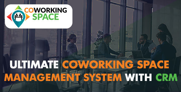 ✨Ultimate Co-Working Space Management System with CRM Nulled