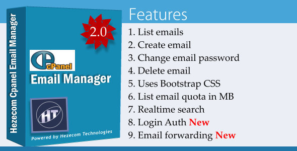 ✨Cpanel Email Manager Nulled