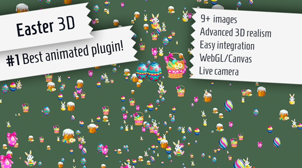 ✨Easter 3D – Plugin for WordPress Nulled
