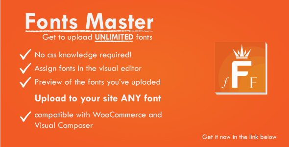 ✨Fonts Master and Google Fonts – The WordPress Plugin for Fonts Management – ShuFont Nulled