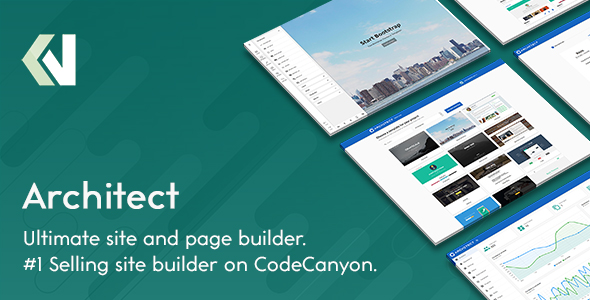 ✌Architect – HTML and Site Builder Nulled