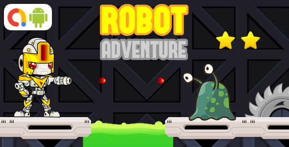 ✅ Robot Adventure Android Game with AdMob + Ready to Publish Nulled