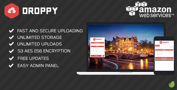✨Amazon S3 – Droppy online file sharing Nulled