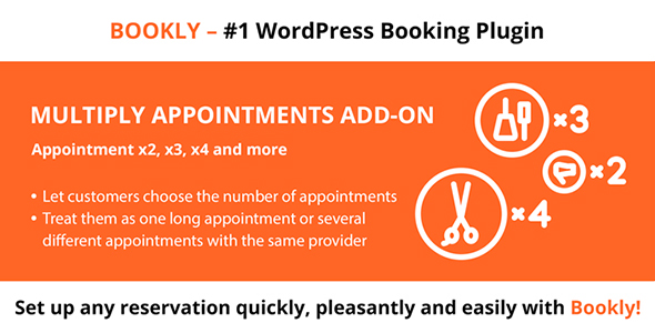 ✅ Bookly Multiply Appointments (Add-on) Nulled