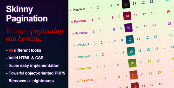 ✌Skinny PHP Pagination Nulled