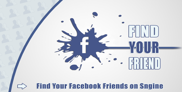 ✌Find Your Facebook Friend – Sngine Nulled