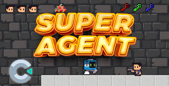 ✅ Super Agent – Construct 3 Game Nulled
