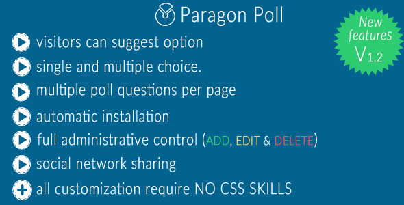✅ Paragon Poll Nulled