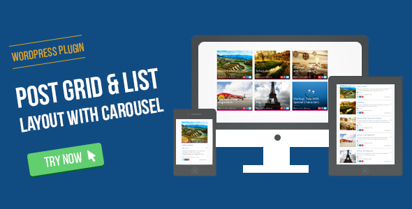 ✅ WordPress Post Grid/List Layout With Carousel Nulled
