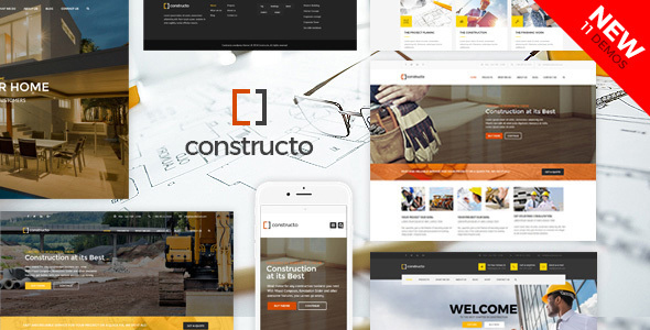 ✌Constructo – Construction WordPress Theme Nulled