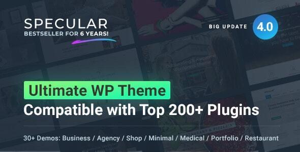 ✨Specular – Business WordPress Multi-Purpose Nulled