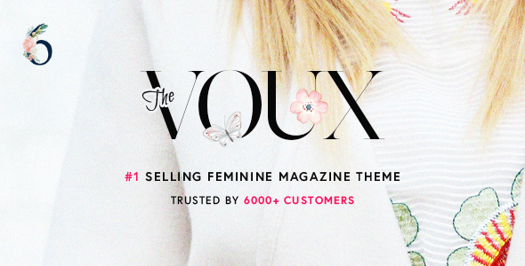 ✌The Voux – A Comprehensive Magazine WordPress Theme Nulled