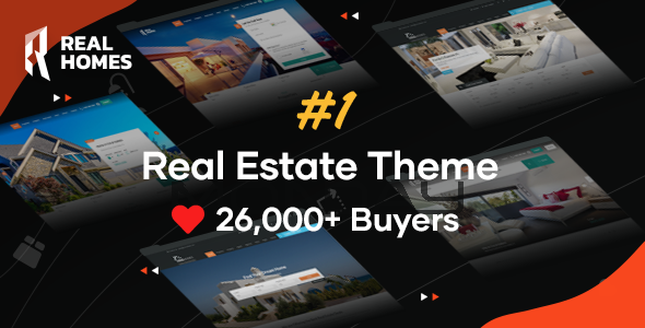 ✅ RealHomes – Estate Sale and Rental WordPress Theme Nulled