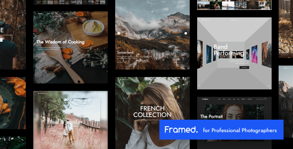 ✌Framed | Photography WordPress Nulled