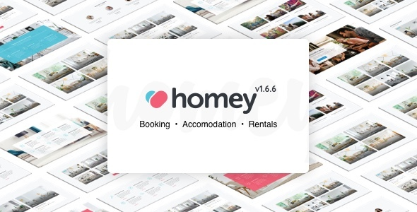 ✅ Homey – Booking and Rentals WordPress Theme Nulled