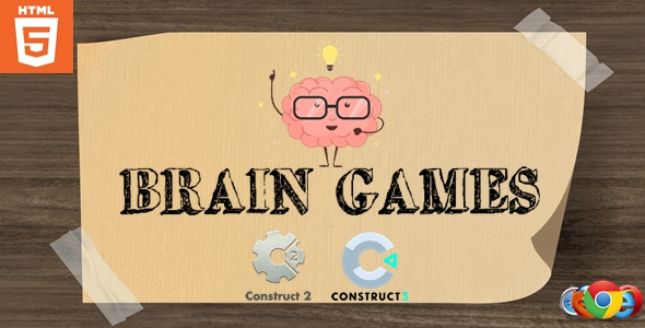 ✅ Brain Games – Puzzle game – HTML5 Nulled