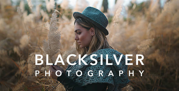 ✨Blacksilver | Photography Theme for WordPress Nulled