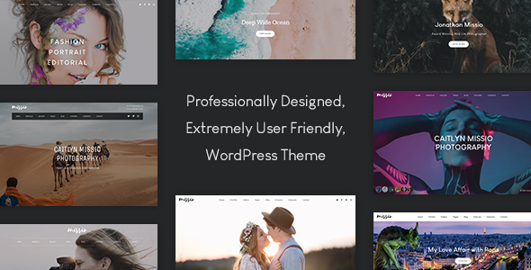 ✨Missio – Photography WordPress Nulled