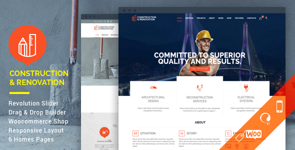 ✌Construction – Building WordPress Nulled