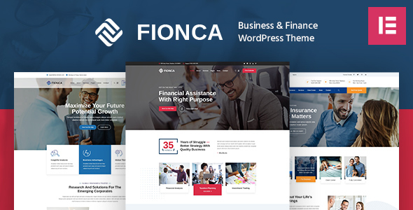 ✨Fionca – Business & Finance WordPress Theme Nulled