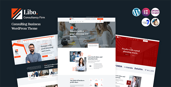 ✅ Libo – Consulting Business WordPress Theme Nulled