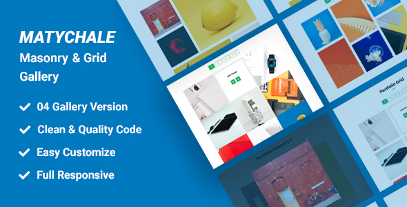 ✌Matychale-Masonry & Grid Gallery Nulled