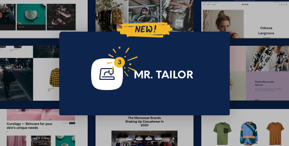 ✨Mr. Tailor – eCommerce WordPress Theme for WooCommerce Nulled