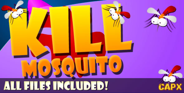 ✨Kill Mosquito (CAPX & HTML) Game! Nulled