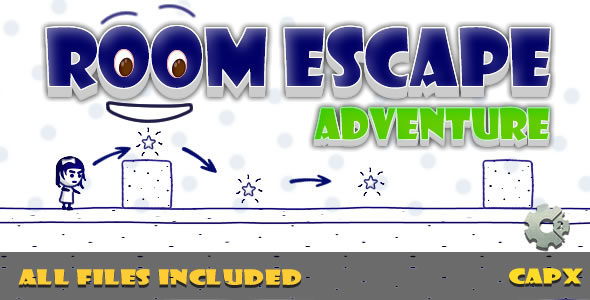 ✌Room Escape (CAPX & HTML) Game! Nulled
