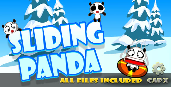 ✅ Sliding Panda (CAPX & HTML) Game! Nulled