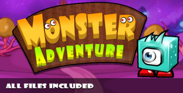 ✌Monster Adventure (CAPX & HTML) Game. Nulled