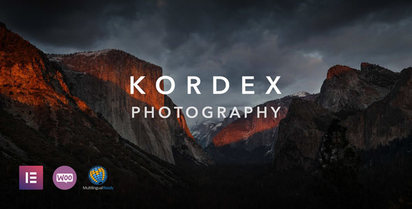 ✨Kordex | Photography Theme for WordPress Nulled