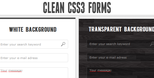 ✌Clean CSS3 input forms Nulled