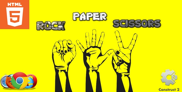 ✅ Rock Paper Scissors – HTML5 – Casual game Nulled