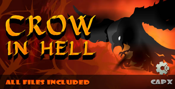 ✅ Crow in Hell – (.CAPX & .HTML) Game! Nulled