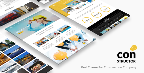 ✅ Constructor | Construction WordPress Nulled
