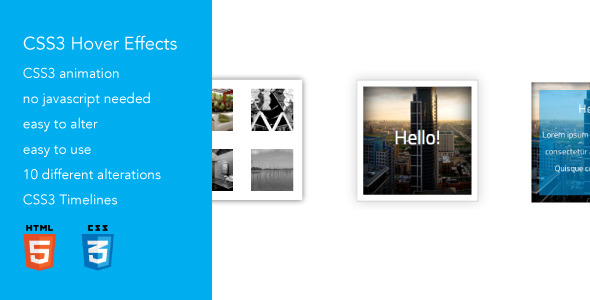 ✅ Advanced CSS3 Hover Effects 3 Nulled