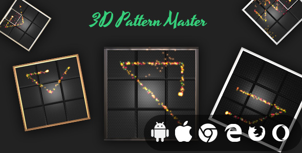 ✌3D Pattern Master – Cross Platform Addictive Casual Game Nulled