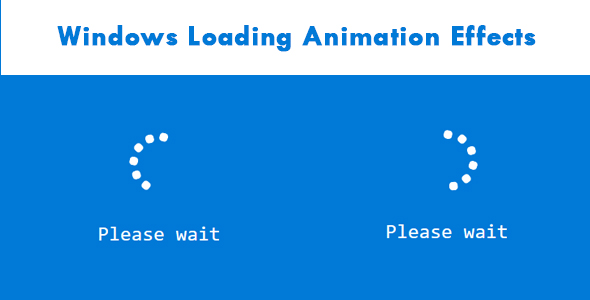 ✨Windows Loading Animation Effects Nulled