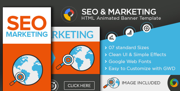 ✅ SEO & Marketing HTML 5 Banners Nulled