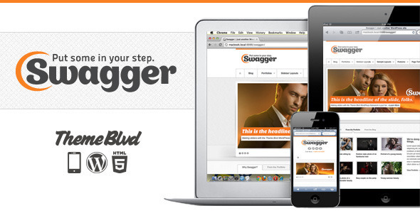 ✅ Swagger Responsive WordPress Theme Nulled