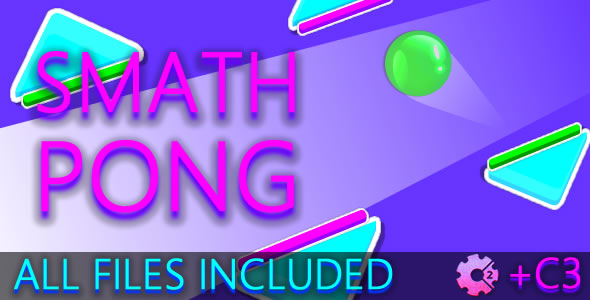 ✨Smath Pong (C2 + C3 + HTML) Game! Nulled