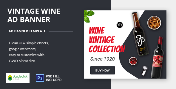 ✨Wine – HTML Animated Banner Nulled