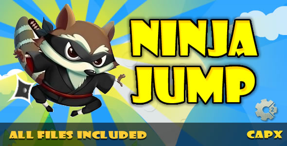 ✌Ninja Jump (HTML & CAPX) Game! Nulled