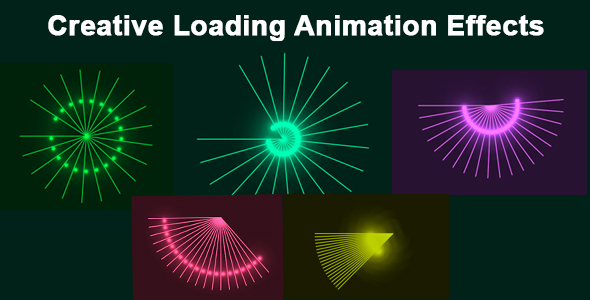 ✅ Creative Loading Animation Effects Nulled