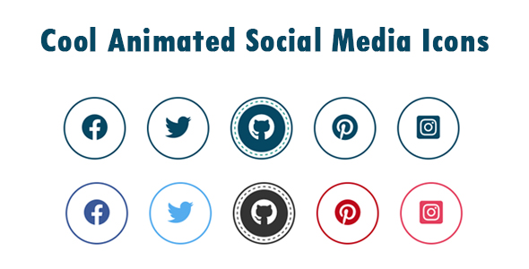 ✨Cool Animated Social Media Icons Nulled
