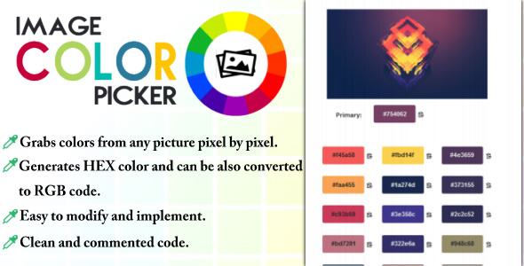 ✨Image Color Picker Nulled