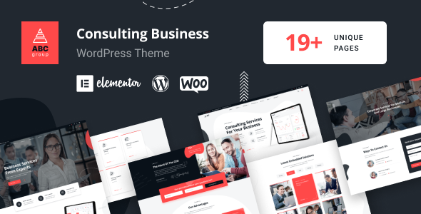 ✨ABCGroup – Consulting Business WordPress Theme Nulled
