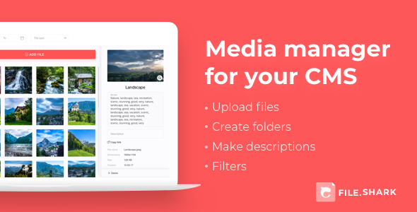 ✌Media Manager Nulled