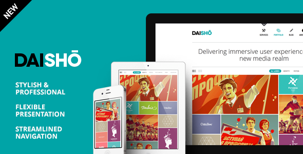 ✅ Daisho – Flexible WordPress Portfolio Theme Nulled